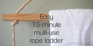 remodelaholic multi functional decorative ladder