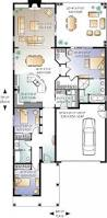 single level floor plans single story narrow lot house plans 1985