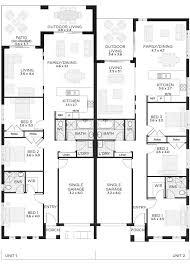3 Storey Townhouse Floor Plans 100 3 Story Duplex Floor Plans Duplex House Plans Gallery