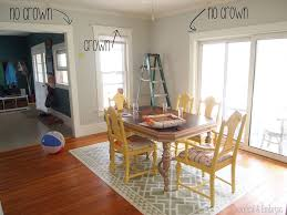 paint u0026 trim updates dining room reality daydream