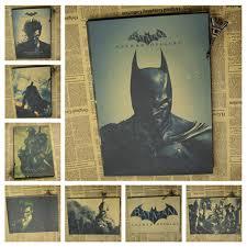 Home Decor Posters Aliexpress Com Buy Batman Arkham Origins Poster Justice League
