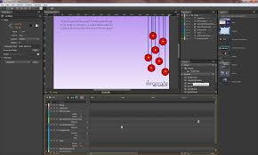 how to add animated content in adobe muse