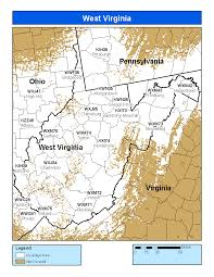 County Map Of West Virginia by Noaa Weather Radio West Virginia