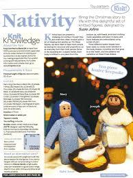 l shade from a christmas story christmas nativity ten piece festive keepsake toy knitting pattern