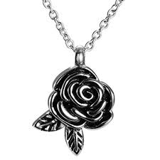 cremation necklaces flower leaf cremation jewelry necklaces for