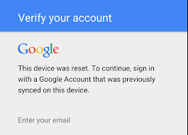 don u0027t change your google password before factory resetting your