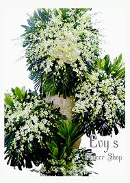 funeral flowers delivery best funeral flower delivery in manila by evys flower shop