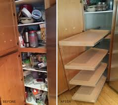 kitchen cabinet slide out shelves shelves magnificent custom diy pull out shelves for kitchen