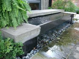 build brick water feature pondless water features offer the sounds