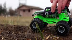 monster truck toy videos grave digger monster truck toy diecast monster jam video