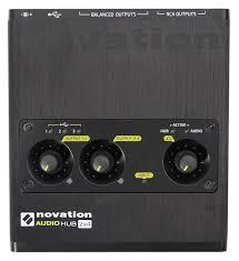 Best Bedroom Audio Interface Amazon Com Novation Audiohub 2x4 Combined Audio Interface And Usb