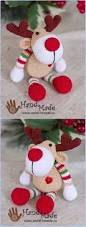 9 best crochet christmas images on pinterest christmas crafts