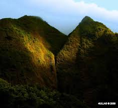 Iao Valley State Park Map by Iao Valley Wailuku