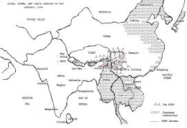 Monsoon Asia Map by China Burma And India From The Back Seat Cbi Theater Of World