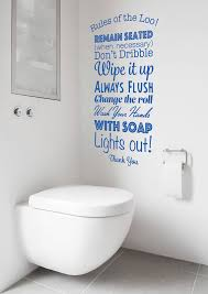 bathroom quote those with short bats vinyl wall decal wall