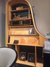 this bookshelf is made out of a grand piano mildlyinteresting