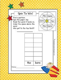 Room Dolch Word Games - 48 best sight words images on pinterest sight word activities
