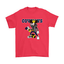 necklace shirt images Nfl dallas cowboys mickey mouse is wearing a peace necklace disney png