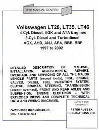 vw lt35 wiring diagram pdf vw wiring diagrams instruction
