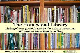 Backyard Homestead Book by Homestead Library Common Sense Homesteading