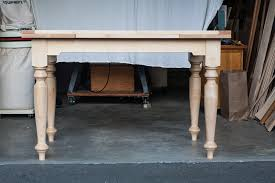 extension table features osborne country style table legs