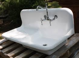 bathroom white kohler sinks plus silver kitchen faucet for