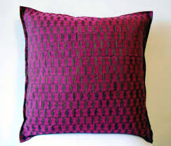 cushion covers for sofa pillows magenta chanderi cotton throw pillow cover cushion cover sofa