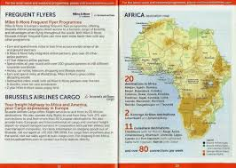 Condor Airlines Route Map by Airline Memorabilia Mayo 2014
