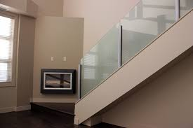 Indoor Banister Interior Glass Railings Deckview Glass U0026 Railing Calgary