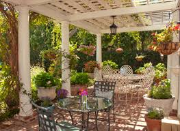 patio concrete landscaping ideas small patio ideas for small nurani