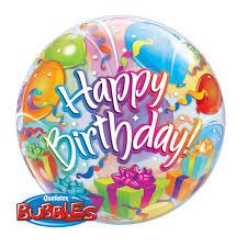 birthday balloons for him birthday birthday balloon 56cm qualatex