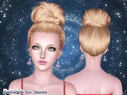 sims 3 custom content hair skysims hair 128