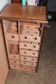 custom large cabinet humidor cherry walnut spanish cedar by