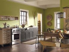 chic best paint color for kitchen with dark cabinets elegant