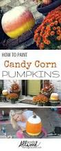 Decorative Halloween Pumpkins Candycorn Pumpkins Not As Easy As They Look Candy Corn Pumpkins