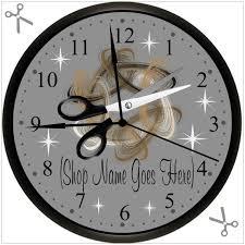 Personalized Picture Clocks Beauty Shop Beauty Salon Hair Stylist Hairdresser Custom