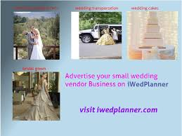 wedding vendor websites how to advertise a small wedding vendor business on a tight budget
