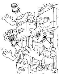 999 coloring pages 12 best chicken run images on pinterest chicken runs coloring