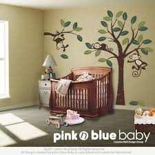 Nursery Monkey Wall Decals 30 Best Monkey Nursery Inspiration Images On Pinterest Baby Room