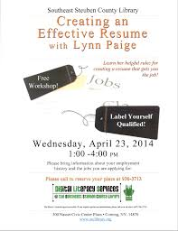 Resume That Gets The Job by March 2014 U2013 Tech Talk At Sscl