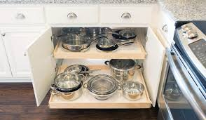 corner kitchen cabinet storage ideas blind corner cabinet solutions shelfgenie