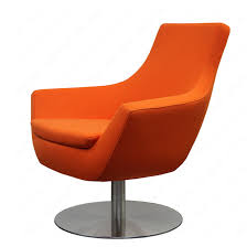 furniture u0026 accessories orange swivel chairs for living room