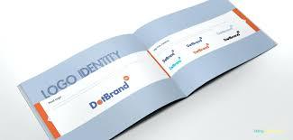 indesign logo templates in design brochure template free vector