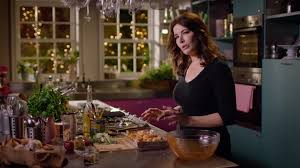 warm spiced cauliflower and chickpea salad recipe simply nigella