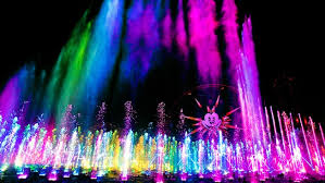 world of color disneyland resort