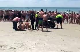 4 teens arrested for allegedly having at cape cod beach necn