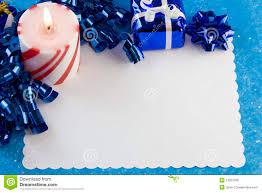 christmas card blue decorations stock photo image 13207506