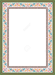 23185916 floral ornament border frame colored stock vector frame