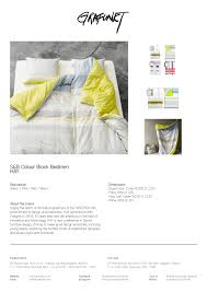 s u0026b colourblock bed linens grafunkt