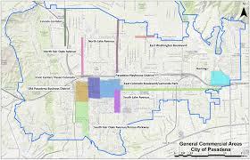 Pasadena Ca Map Business Resources U2013 Economic Development
